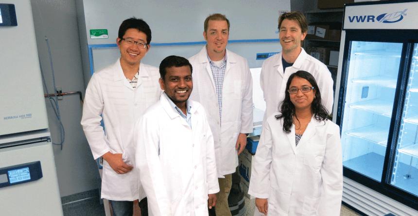 Moeser lab team
