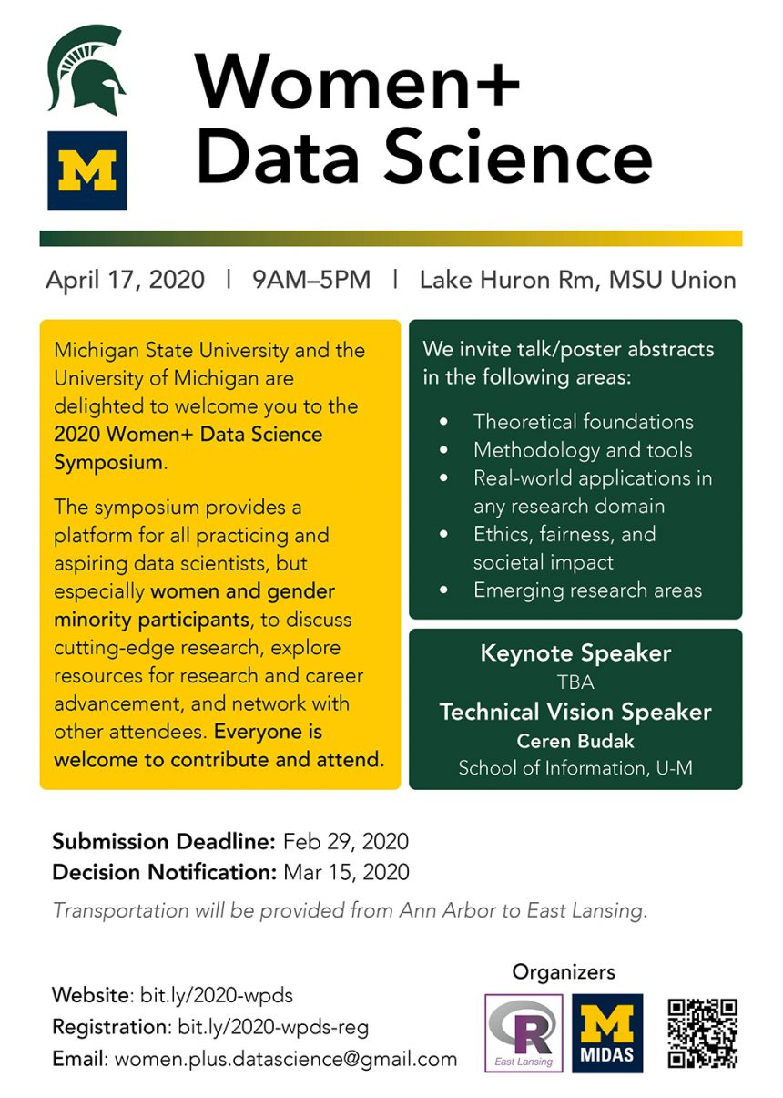 Women Data Science Flyer