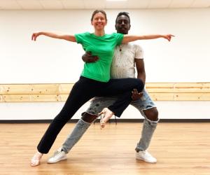 R Smedley Dance Rehearsal