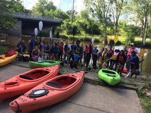 Program Activities Kayak Large Group 2017