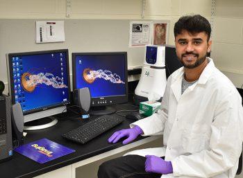 Pakistan Outreach Azam Ali Sher In Laboratory