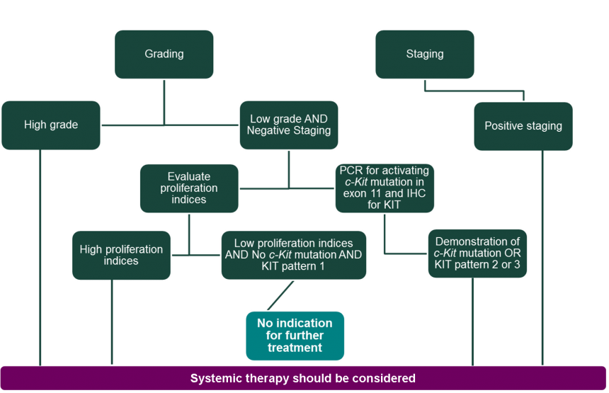 Considerations For Inclusion Of Systemic Therapy In Treatment Of Dogs With Canine Cutaneous Mast Cell Tumors